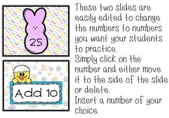 EASTER Animated Editable PowerPoint Adding 10