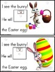 EASTER Adapted Book Easter Bunny Building Sentences with Verbs