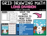 EASTER BUNNY WITH EGGS Grid Math Puzzle LONG DIVISION WITHOUT REMAINDERS