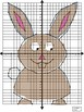 EASTER Bunny Coordinate Graphing Picture