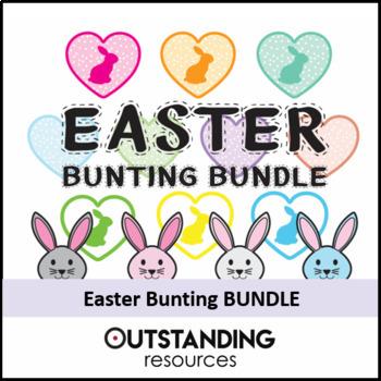 EASTER Bunting BUNDLE (74 items) - Fantastic Classroom Display