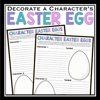 EASTER CHARACTER ASSIGNMENT: EGG DECORATING