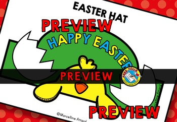 EASTER CRAFT HAT TEMPLATES (HATCHING EASTER CHICK CRAFT)