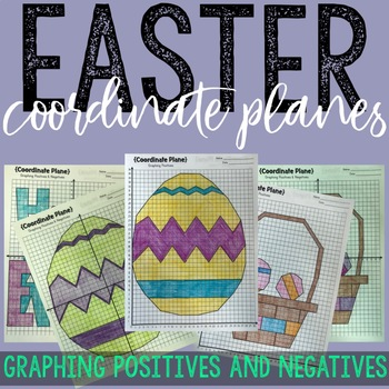 EASTER Coordinate Planes! Positive AND Negative