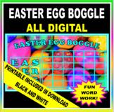 EASTER EGG BOGGLE (Digital and Printable)