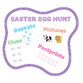 EASTER EGG HUNT AND EASTER BASKETS