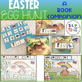 EASTER EGG HUNT, BOOK COMPANION & ACTIVITY WORKSHEETS (SPEECH THERAPY) SPRING