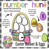 EASTER EGG NUMBER HUNT