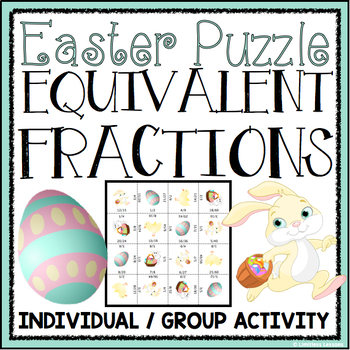 EASTER EQUIVALENT FRACTIONS ACTIVITY