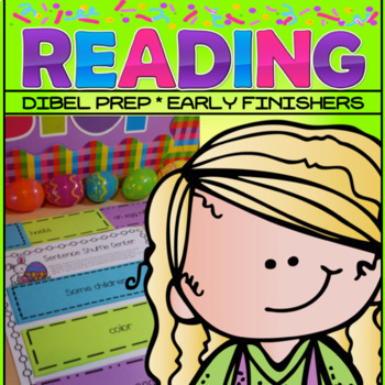 Spring Easter Reading 2nd grade fluency activity