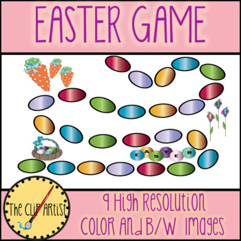 EASTER GAME BOARD CLIPART