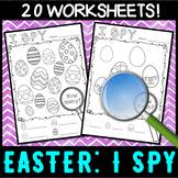 EASTER: I SPY visual perception - No Prep Activity Centre