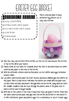 EASTER LESSON BUNDLE 34 PAGES OF LESSONS