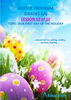 EASTER - Lesson 10 of 10 - Grades 5&6