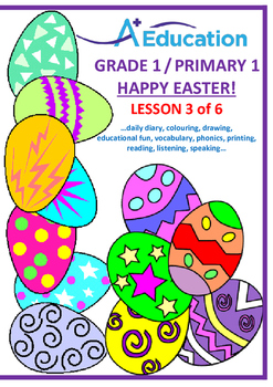 EASTER - Lesson 3 of 6 - Grade 1