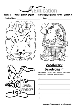 EASTER - Lesson 3 of 6 - Grade 2