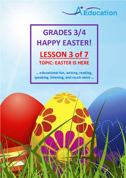 EASTER - Lesson 3 of 7 - Grades 3&4