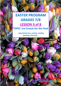 EASTER - Lesson 3 of 8 - Grades 7&8