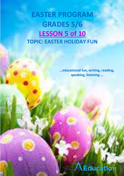 EASTER - Lesson 5 of 10 - Grades 5&6