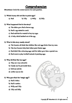 EASTER - Lesson 5 of 6 - Grade 2