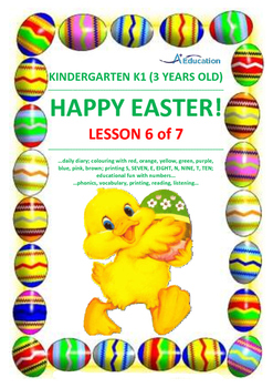 EASTER - Lesson 6 of 7 - Kindergarten 1 (3 Years Old)