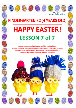 EASTER - Lesson 7 of 7 - Kindergarten 2 (4 Years Old)