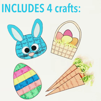EASTER MATH ACTIVITIES - FIFTH GRADE PUZZLE BUNDLE