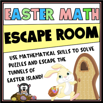 EASTER MATH ESCAPE ROOM