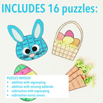 EASTER MATH PROJECT - ADDITION AND SUBTRACTION