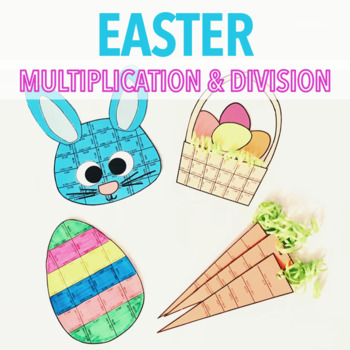 EASTER MULTIPLICATION AND DIVISION PROJECT