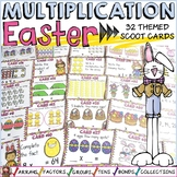 EASTER: MULTIPLICATION SCOOT: TIMES TABLES FACTS