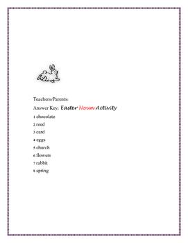 EASTER NOUN ACTIVITY