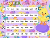 EASTER Nonsense Word Fluency R.T.I. ROLL and READ Resource
