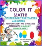 EASTER FUN PAK (PreK-3)--7pp MATH/LITERACY GAMES: EGGS, BU