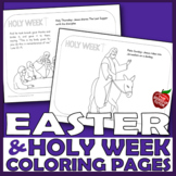 EASTER RELIGIOUS COLORING PAGES {EASTER BIBLE ACTIVITIES}