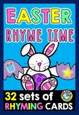 EASTER LITERACY CENTER: RHYMING ACTIVITIES: RHYMING WORDS