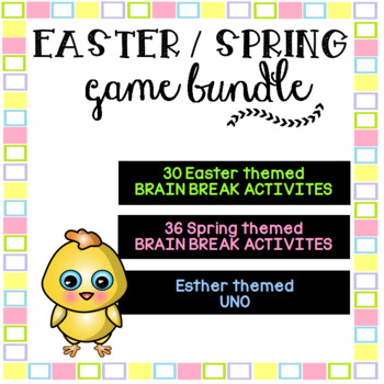 EASTER & SPRING Game BUNDLE