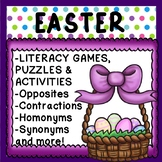 EASTER SPRING Literacy Activities Morning Work Games Works