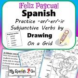 EASTER: Spanish Subjunctive -ar/-er/-ir Verbs-Draw on Grid