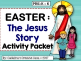 EASTER The JESUS Bible Story Activity Pack with Guided Story Book