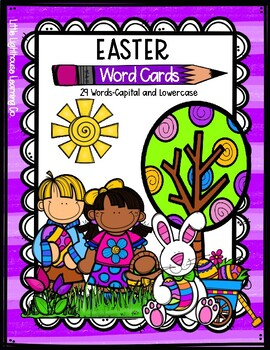 EASTER Word Cards {Capital & Lowercase}