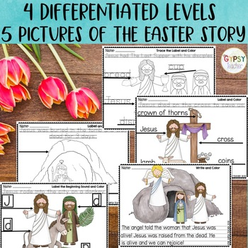 EASTER Write and Color - HE IS RISEN!