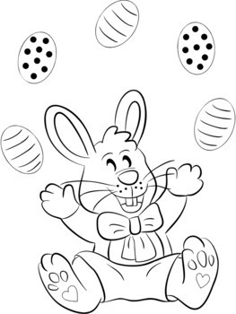 EASTER colouring in sheets