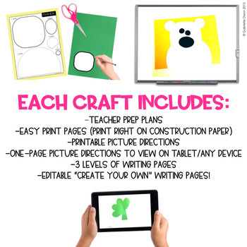 EASY ART BUNDLE ONE: 163 CRAFTS AND WRITING ACTIVITIES