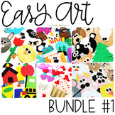 EASY ART BUNDLE ONE: 153 CRAFTS AND WRITING ACTIVITIES
