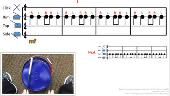 EASY BUCKET DRUMMING - BUNDLE - Downloadable Videos for Music Class