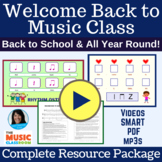 BACK TO SCHOOL Song Elementary Music: EASY Beat Passing Si