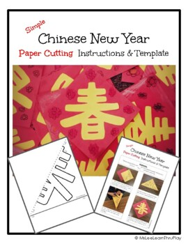 SIMPLE Chinese New Year Paper Cutting Craft