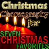*7 Christmas Songs and Carols - EASY Choreography Videos - elementary music
