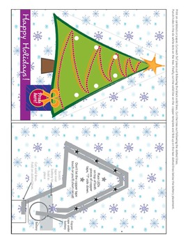 EASY! Create a Light Up Card | STEM, STEAM, LEDs Circuits, Maker Space Activity